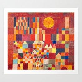 Burg und Sonne 1928 - Paul Klee Art Print