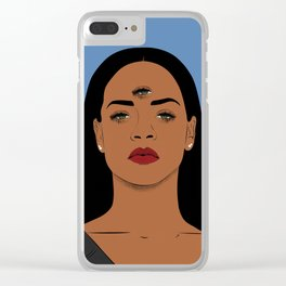 Rihanna Clear iPhone Case