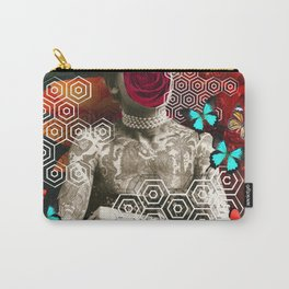 girl with tattoo Carry-All Pouch