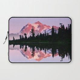 ALPINE SUMMER EVENING SUN ON MOUNT SHUKSAN NORTH CASCADE RANGE 2 Laptop Sleeve