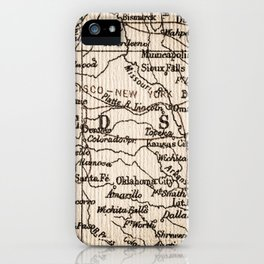 Let's Go Get Lost in the USA iPhone Case