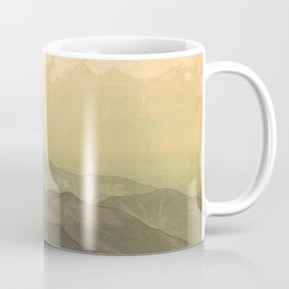 Hiroshi Yoshida - Afternoon - Japanese Vintage Ukiyo-e Woodblock Painting Coffee Mug