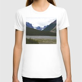 Stutfield Glacier along the Icefields Parkway  in Jasper National Park, Canada T-shirt