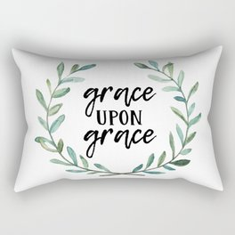 Grace Upon Grace Rectangular Pillow