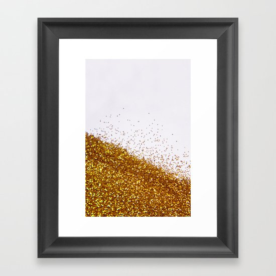 My Favorite Color II (NOT REAL GLITTER) Framed Art Print