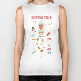 Sleeping tools Biker Tank