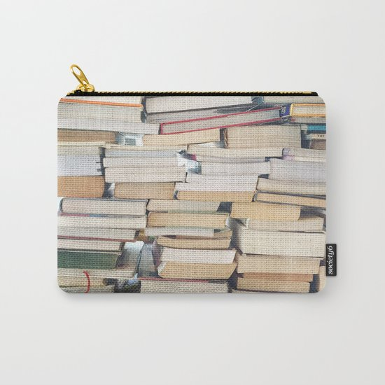 Books, Pages, Stories Carry-All Pouch