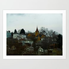 You Wanna Be Like the Folks on the Hill Art Print