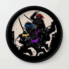 A Night On The Town Wall Clock