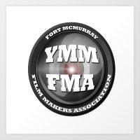Fort McMurray Film Makers Association Art Print