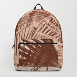 Arecales Palmae Copper Cocos Backpack
