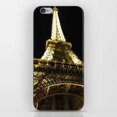 Tour Eiffel By Night iPhone & iPod Skin