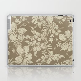 Hibiscus Pareau Hawaiian Floral Aloha Shirt Print Laptop & iPad Skin