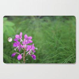 Fireweed Wildflower Cutting Board