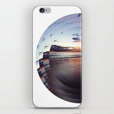 circular beach iPhone & iPod Skin