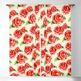 Floral Frosting Pattern Blackout Curtain