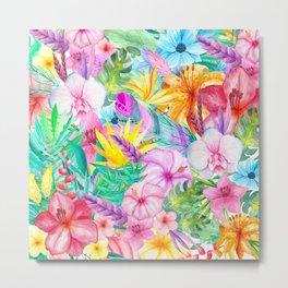 beauty floral i Metal Print