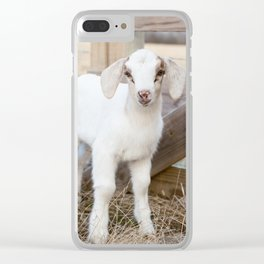 Baby Aggie Clear iPhone Case