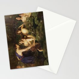 The Nymphs Stationery Cards