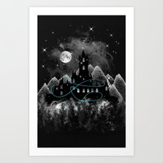 The Hidden Kingdom Art Print