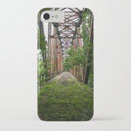 Abandoned Train Bridge iPhone Case