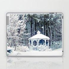 Snowy Gazebo Laptop & iPad Skin