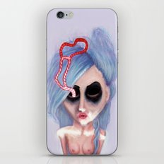Abstracted Heart iPhone & iPod Skin