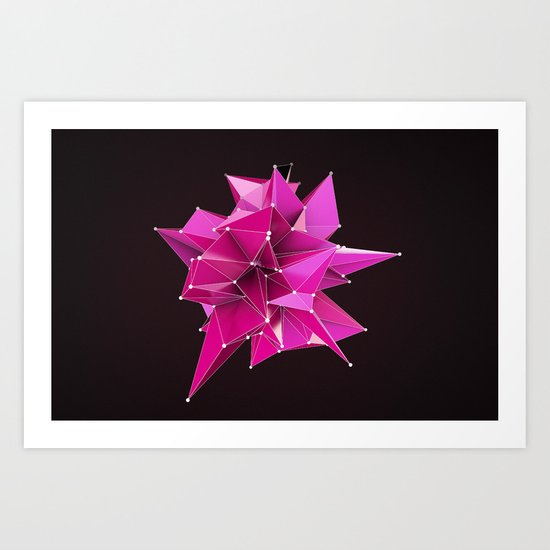 Nik Abstract 3D Art Print