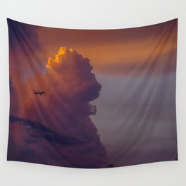 Glowing Escape Wall Tapestry