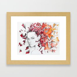 The Fires Found A Home In Me Framed Art Print