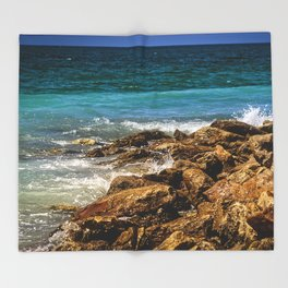 Peaceful Surroundings Throw Blanket