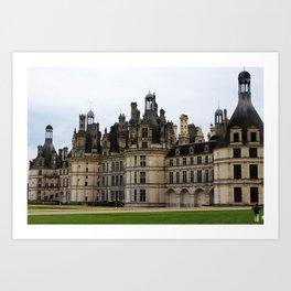 Chateau de Chambord Art Print