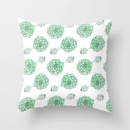 PATTERN II Succulent Life Throw Pillow