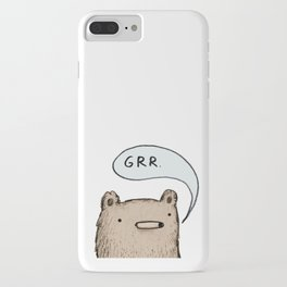 Growling Bear iPhone Case