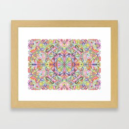 Kaleidoscope I Framed Art Print