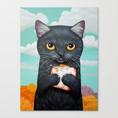 BEIGNET ALL DAY Canvas Print