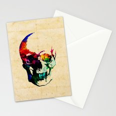I live inside your face Stationery Cards