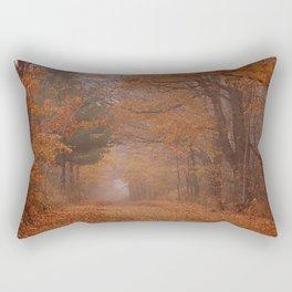 Autumn Path Rectangular Pillow