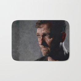 Richard From The Kingdom - Bury Me Here - The Walking Dead Bath Mat