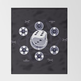 Community Remedial Chaos Theory Throw Blanket
