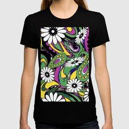 60s Daisy Paisley T-shirt