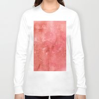 champagne Long Sleeve T-shirts featuring Champagne Sunset by Andrea Gingerich