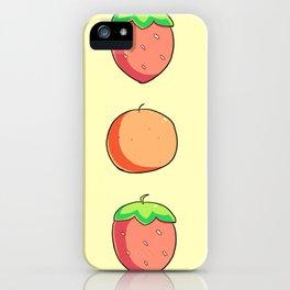 Strawberries and Oranges iPhone Case