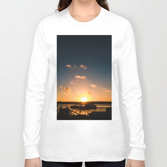 Sun is Going Down Long Sleeve T-shirt