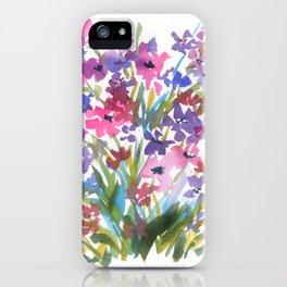 Lavender Mini Fleurs iPhone Case