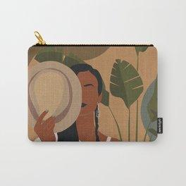 Boho Female Tropical Carry-All Pouch