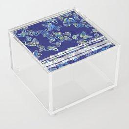 Butterfly Blue Acrylic Box