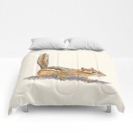 Curious Chipmunk Comforters