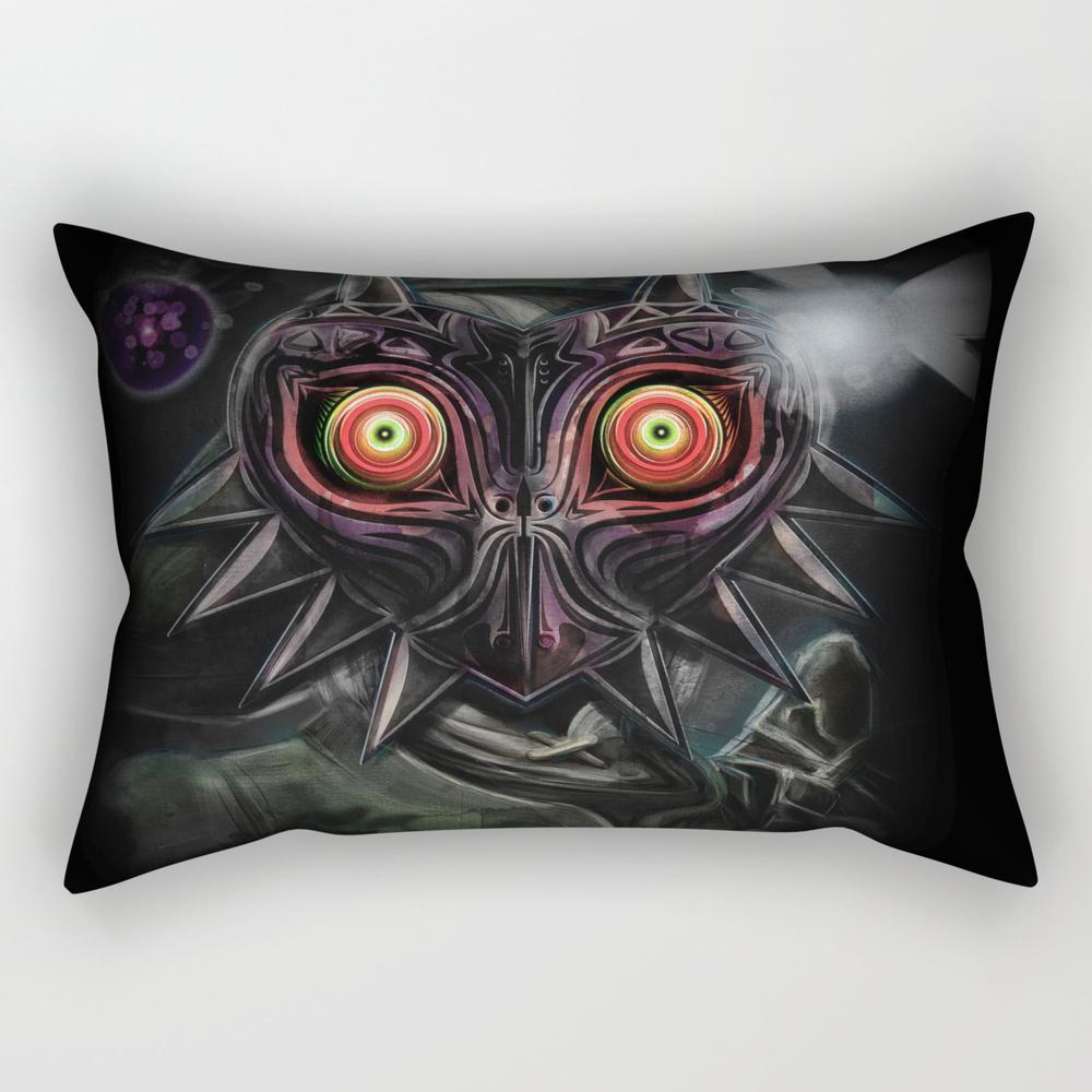 Legend Of Zelda Majora's Mask Link Rectangular Pillow RPW840167