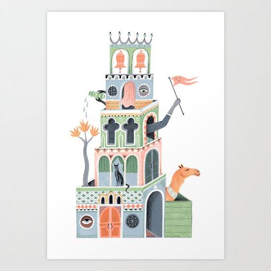 The Fantastic Tower Art Print
